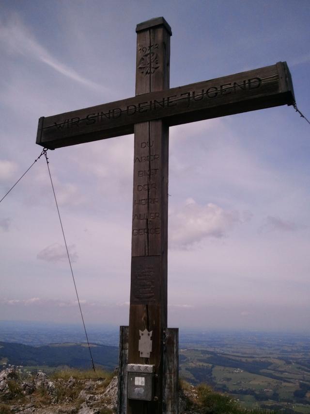 Gipfelkreuz Dürres Eck