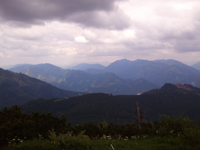Blick vom Gipfel Richtung Norden