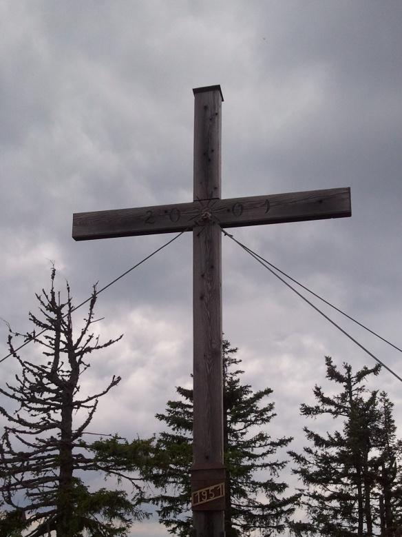 Gipfelkreuz auf der Bodenwies