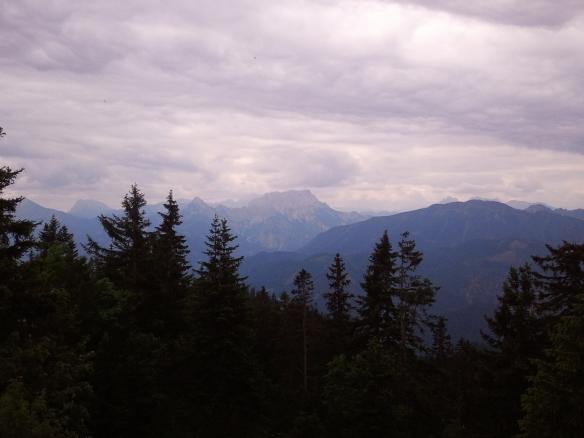 Blick vom Gipfel Richtung Süden (Gesäuse)