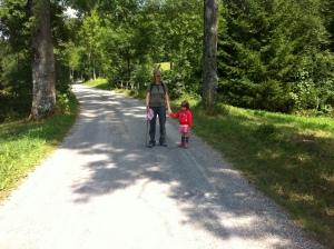 Die müden Wanderer