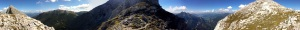 Panorama von der Peternscharte (zum Vergrößern anklicken)