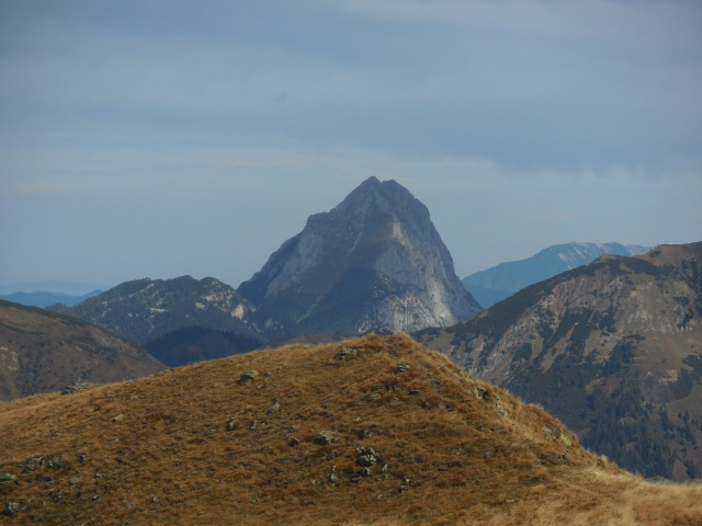 Blick vom Himmeleck-Gipfel zum Lugauer