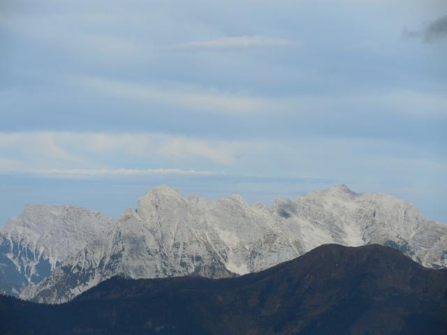 Blick zu den Xeis-Bergen
