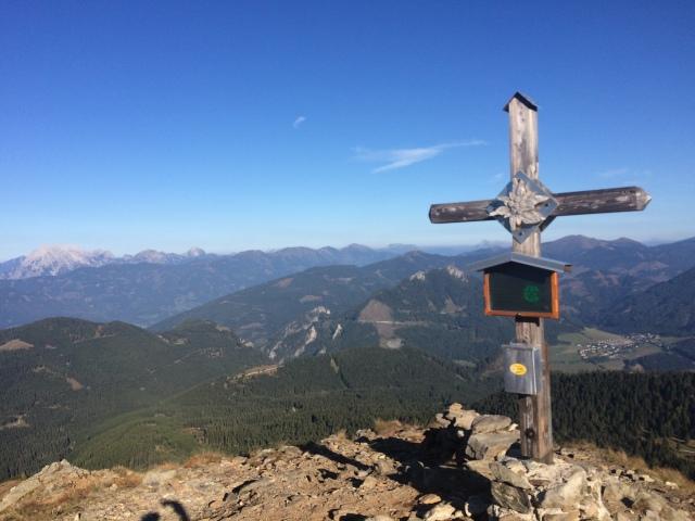 Gipfelkreuz am Hauseck