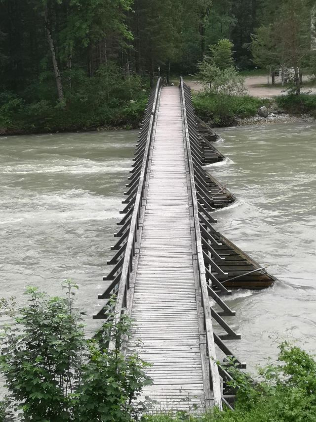 Brücke über die Enns